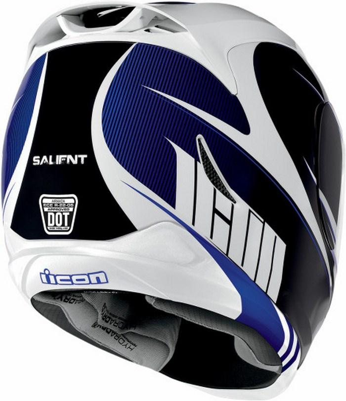 Full Face Helmet Icon Airmada Salient Blue