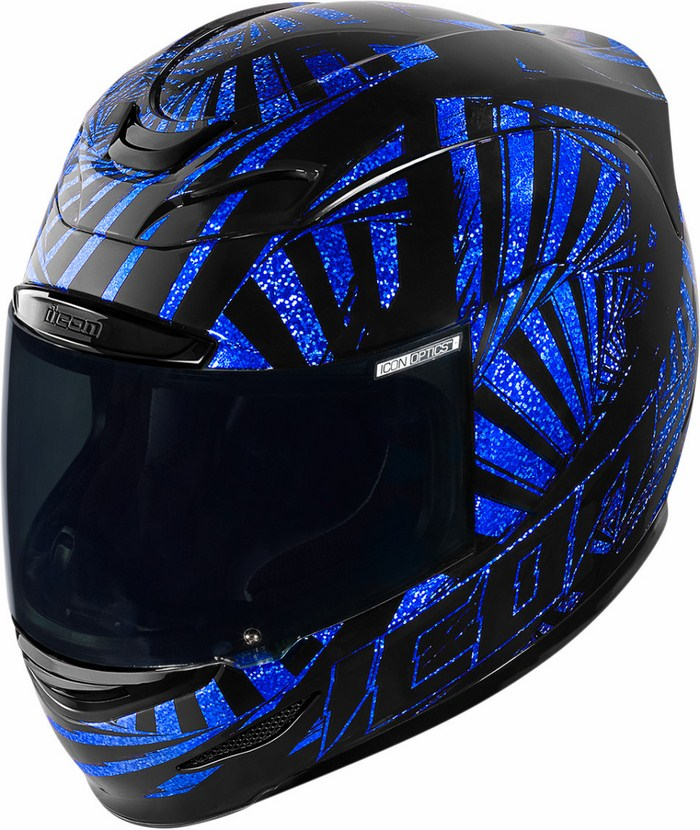 Casco integrale Icon Airmada Spaztyk Blu