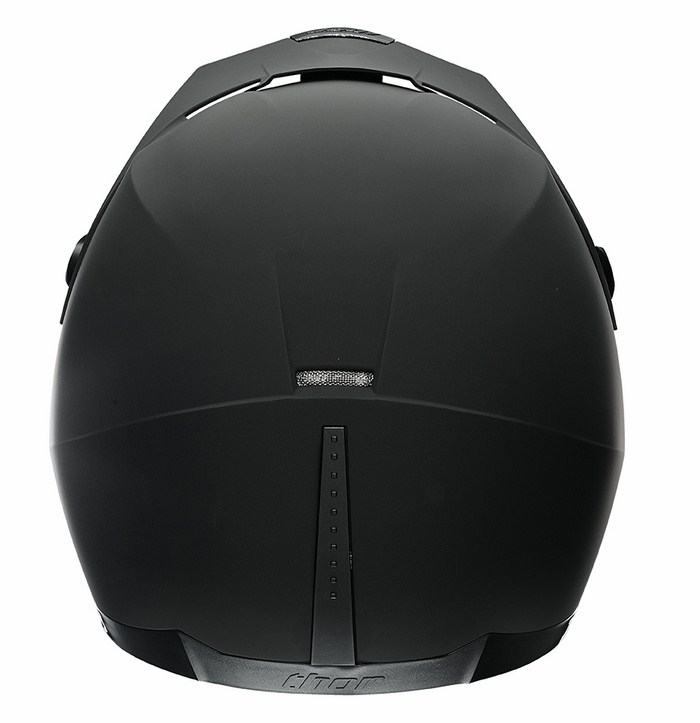 Casco Cross Thor Quadrant Matte nero