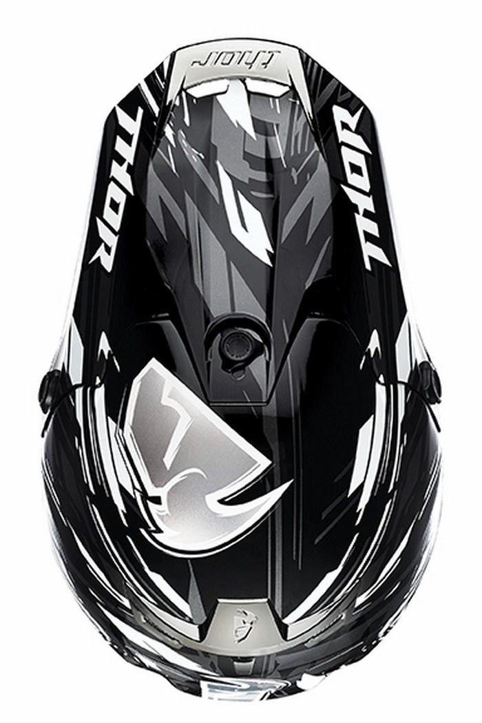 Thor Verge Twist Cross Helmet Black