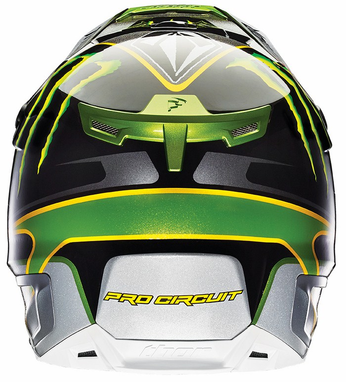 Thor Verge Pro Circuit cross helmet