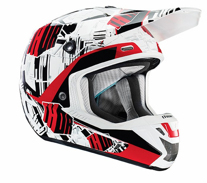 Casco Cross Thor Verge Block