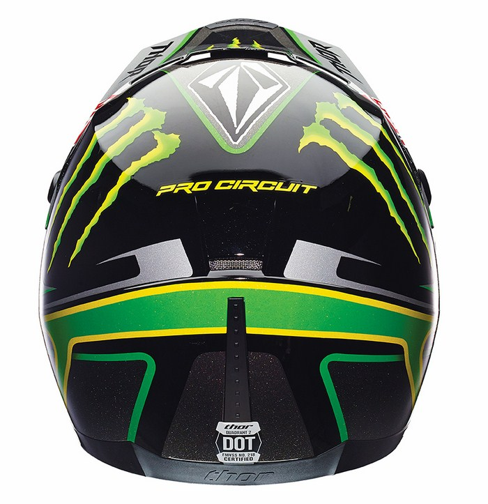 Casco Cross Thor Quadrant Pro Circuit