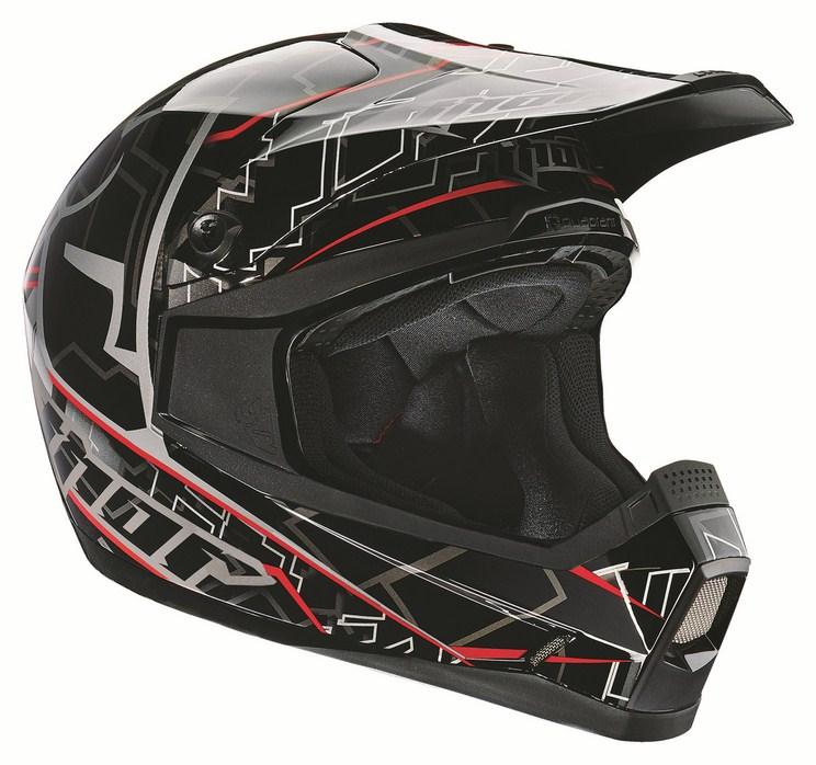Thor Youth Quadrant Fragment helmet black