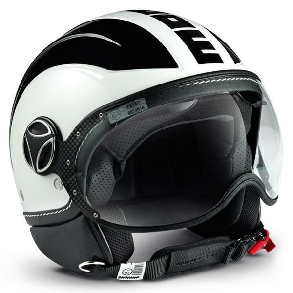 Jet Helmet Momo Design Avio Black Quartz Gloss Black
