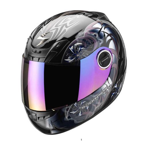 Scorpion Exo 400 Spectral full face helmet Black Chameleon
