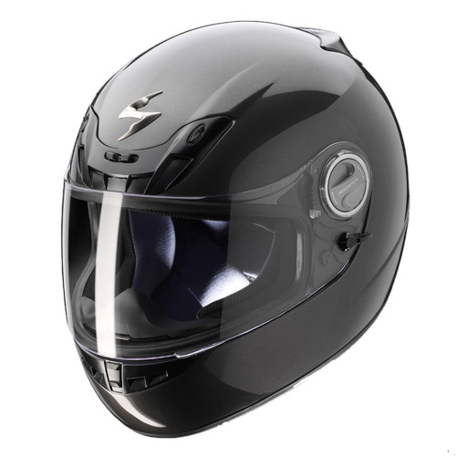 Casco integrale Scorpion Exo 400 Grigio scuro
