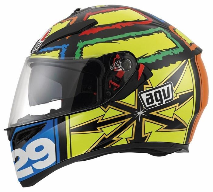 Agv Street Road K-3 SV Replica Iannone helmet