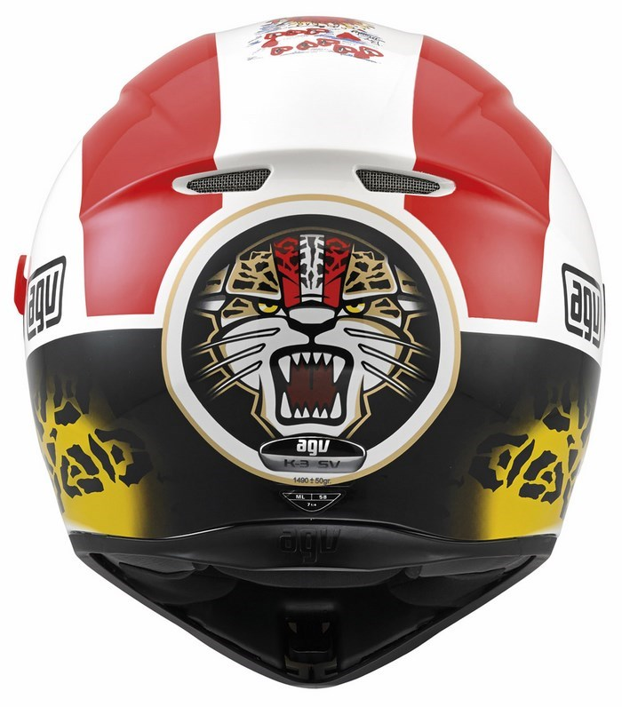 Agv Street Road K-3 SV Replica Simoncelli helmet