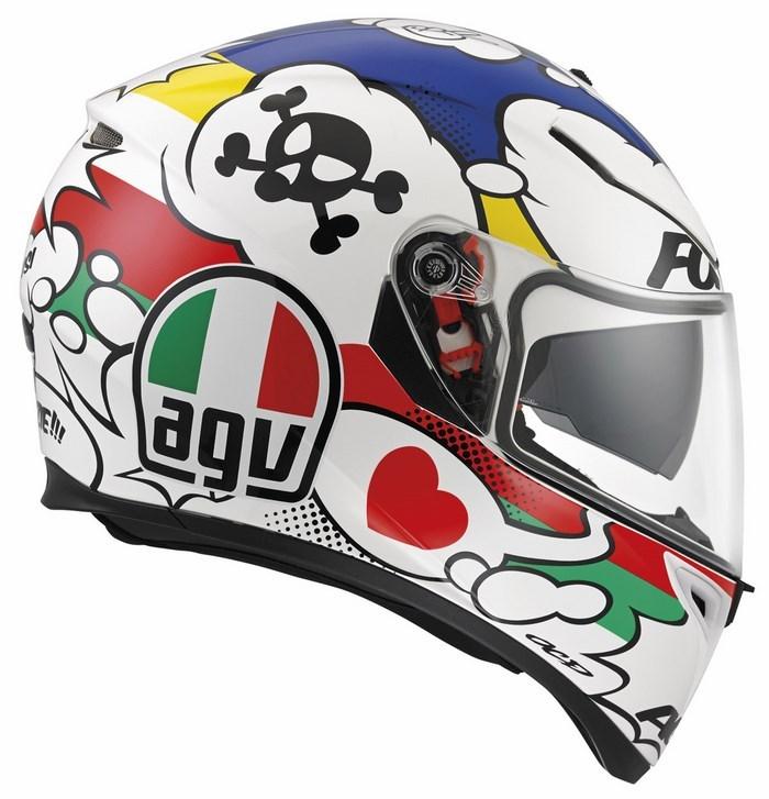 Agv Street Road K-3 SV Multi Comic helmet