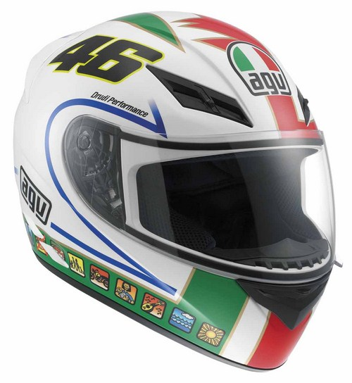 Casco moto Agv K-3 Top Rossi Icon
