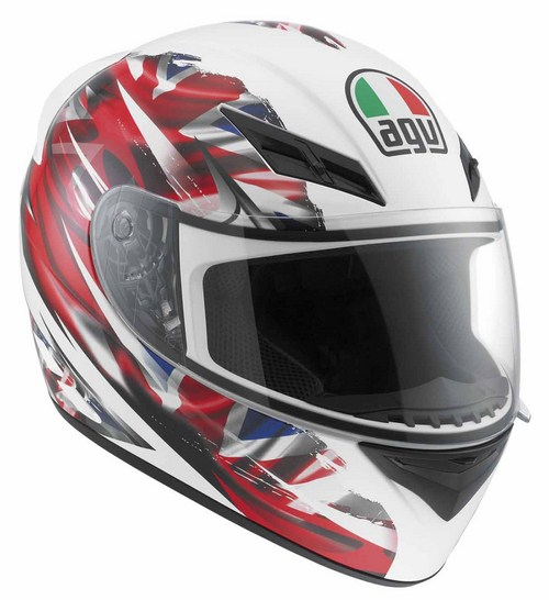 Casco moto Agv K-3 Multi Uk Flag