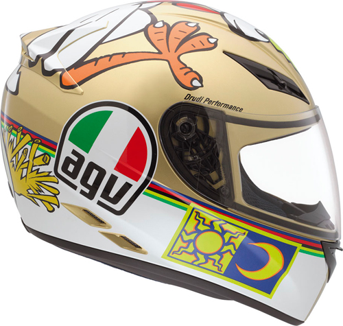 Agv K-3 Top The Chicken full-face helmet