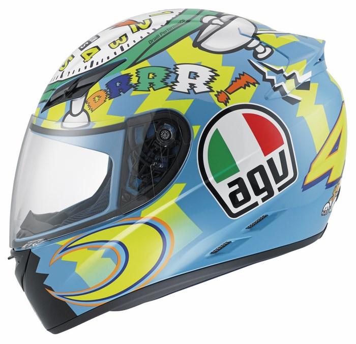 Agv K-3 Top Wake Up fullface helmet