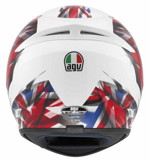 Agv K-3 Multi Uk Flag full-face helmet