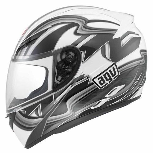 Agv K-3 Multi Chicane full-face helmet white-gunmetal