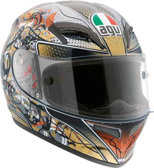 Casco moto Agv Grid Multi Violin Key