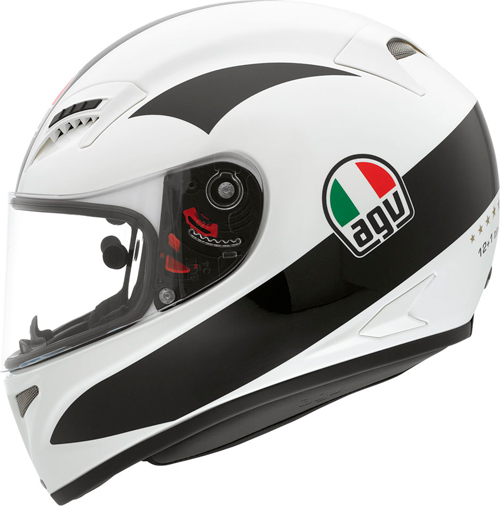 Casco moto Agv Grid Replica Angel Nieto