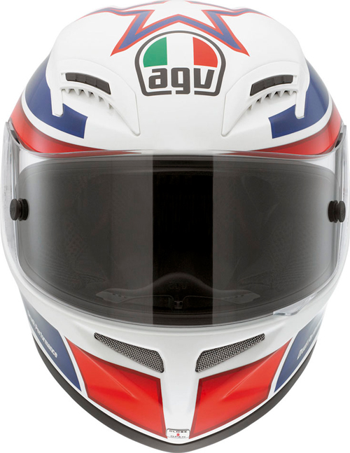 Casco moto Agv Grid Replica Marco Lucchinelli