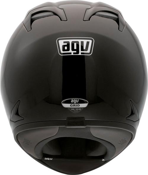 Casco moto Agv Grid Mono nero lucido