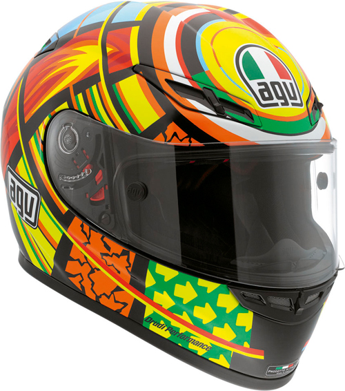 Casco moto Agv Gp-Tech Top Elements