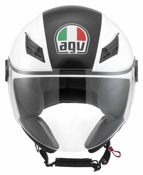 Casco moto Agv Blade Multi FX bianco-gunmetal