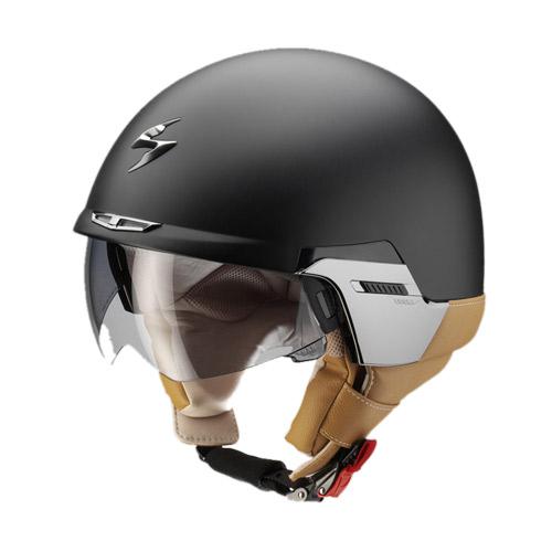Scorpion Exo 100 Padova jet helmet Matt Black
