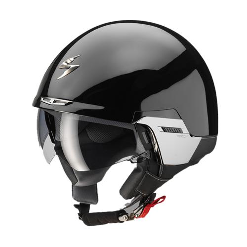 Scorpion Exo 100 Padova II jet helmet black