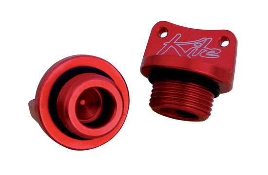 Engine oil plug Honda Kawasaki Yamaha Red Kite