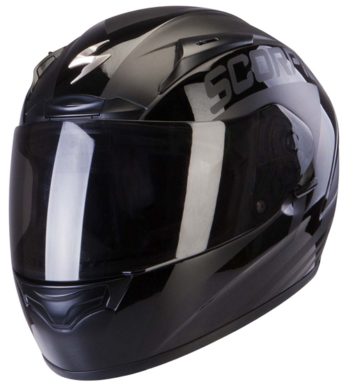 Casco integrale Scorpion Exo 2000 Air Poleman Nero Lucido-Opaco