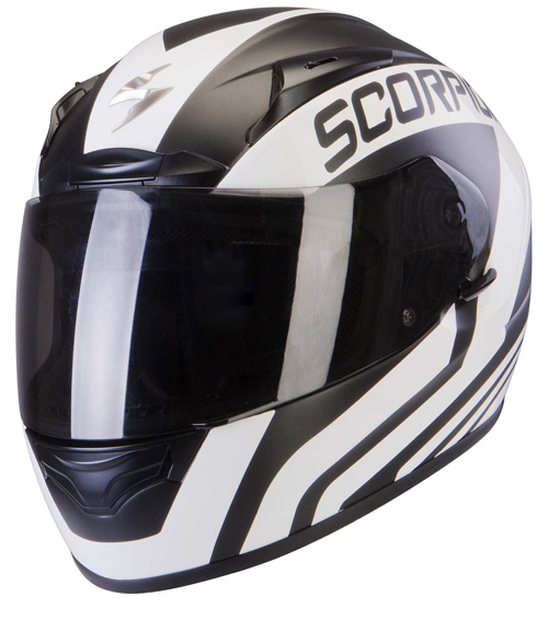 Scorpion Exo 2000 Air Poleman full face helmet White Matt Black