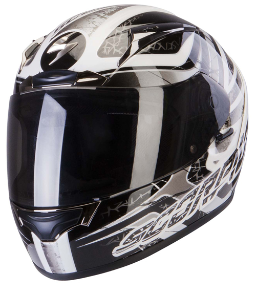 Scorpion Exo 2000 Air Shifter full face helmet Black White