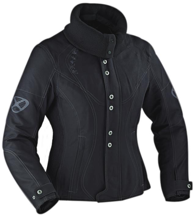 Ixon VEGA CURL woman jacket Black - Confort Size