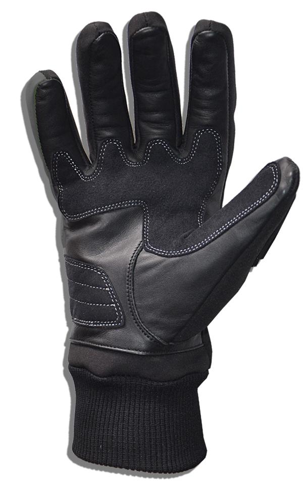 Gloves in Black Softshell Jollisport Span