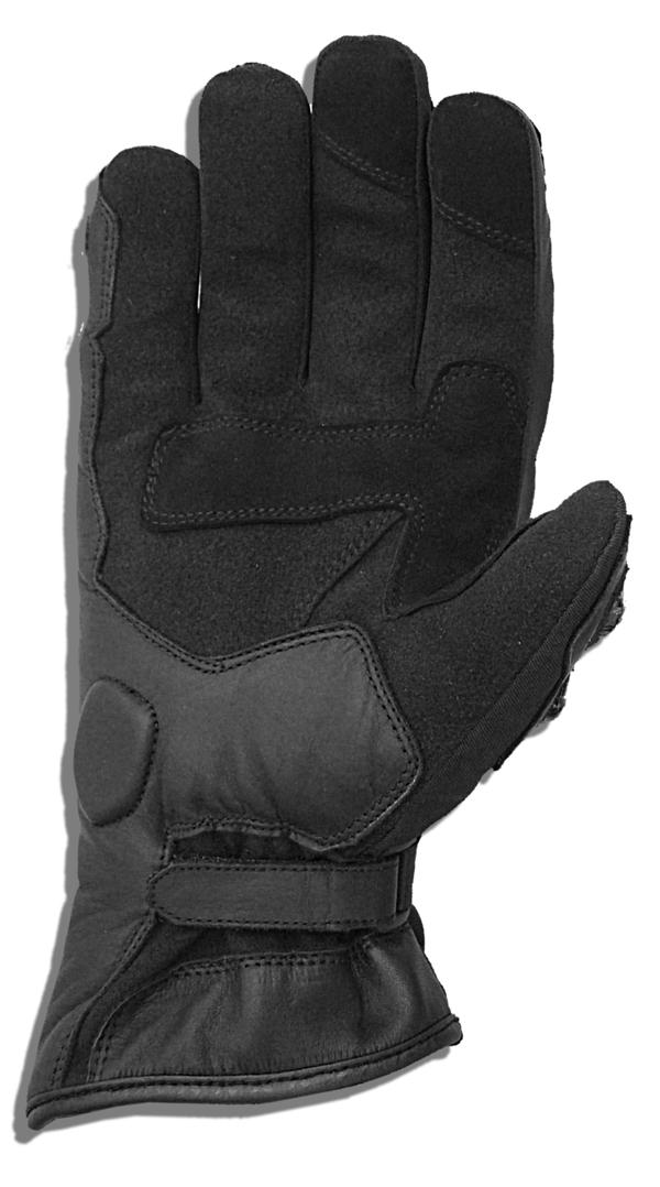 Winter Motorcycle Gloves Black Jollisport Heller