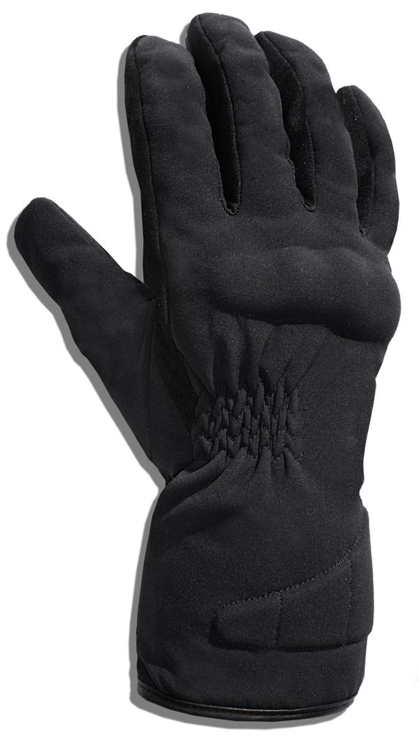Gloves in Black Softshell Jollisport Namor