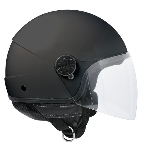 Jet helmet CGM Nevada 101A Black Rubberized
