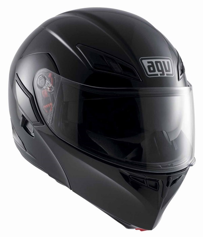 Casco moto Agv GT Compact Mono nero