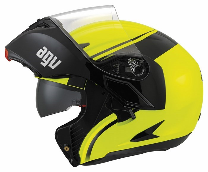 Agv GT Compact Multi helmet yellow fluo