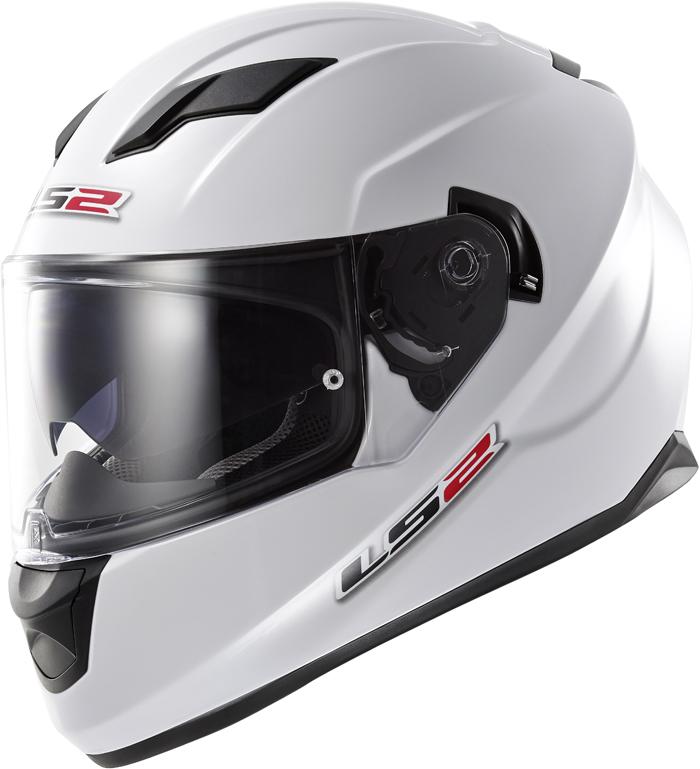 LS2 FF320 Stream full face helmet White