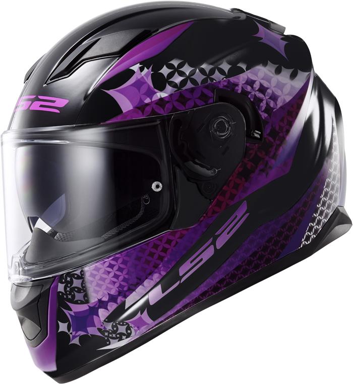 LS2 FF320 Stream Lux full face helmet matte Black Pink