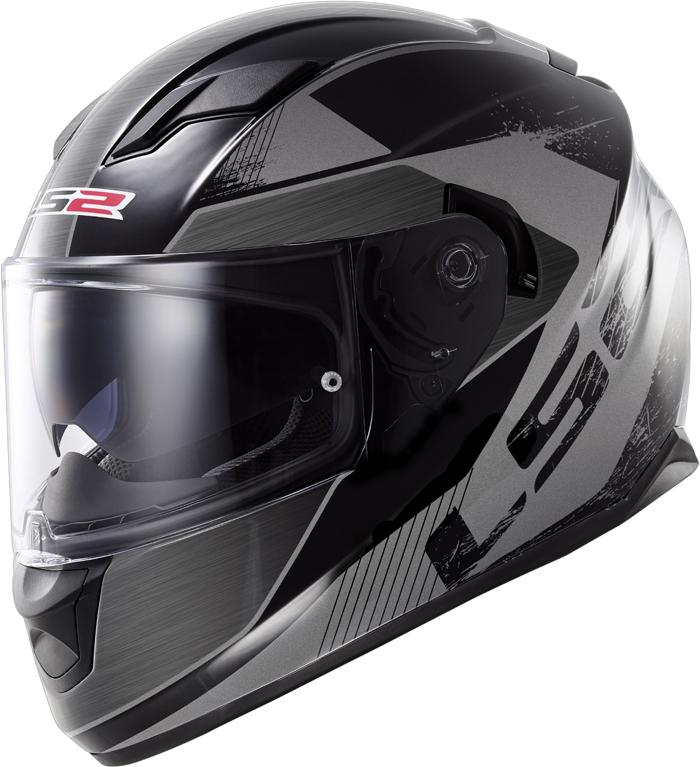 LS2 FF320 Stream Stinger full face helmet Black Titanium