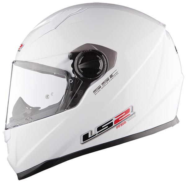 Full face helmet LS2 FF322 Concept II White