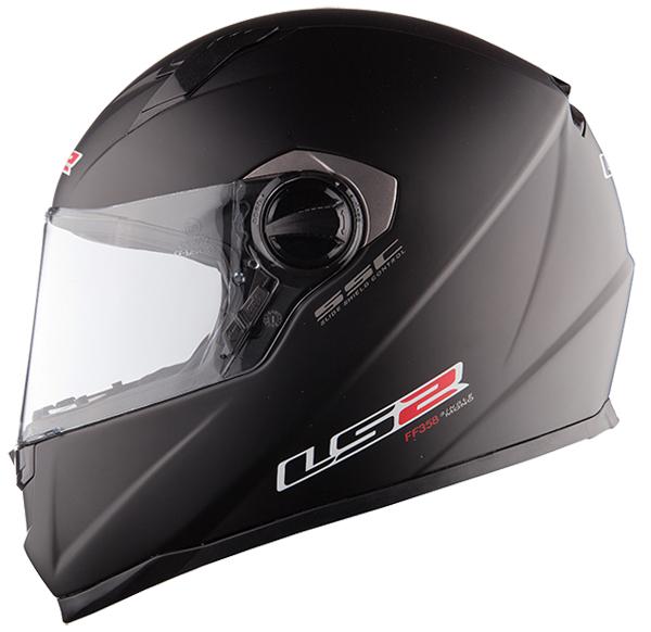 Casco integrale LS2 FF322 Concept II Nero opaco
