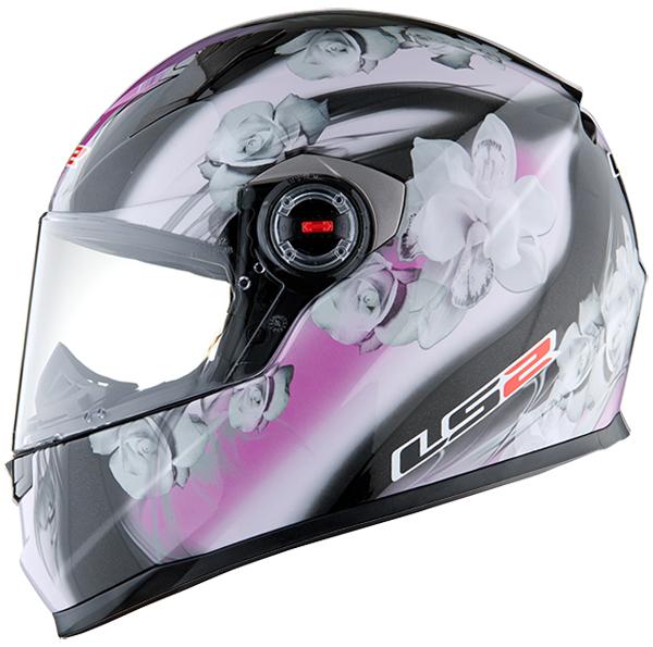 Full face helmet LS2 FF322 Black Pink Chic