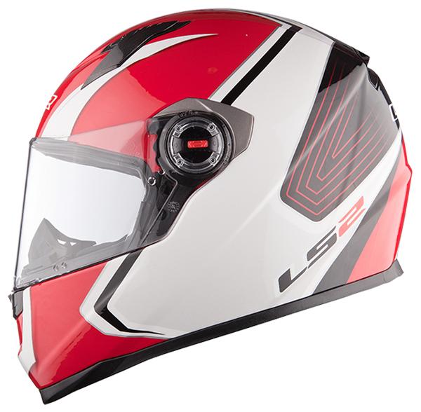Full face helmet LS2 FF322 Race White Red