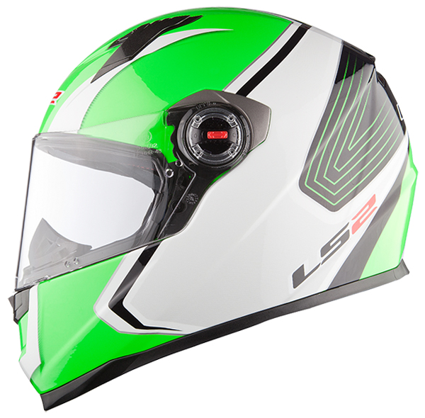 Casco integrale LS2 FF322 Corsa Bianco Verde
