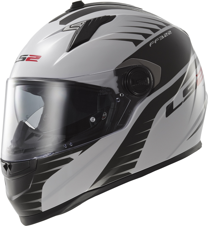 LS2 FF322 Concept II Air Fighter full face helmet White Black