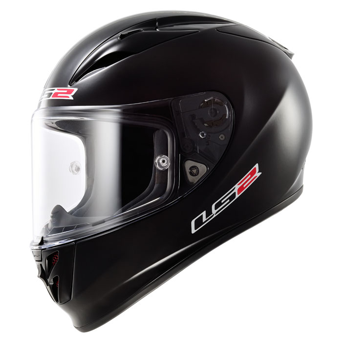 LS2 FF323 Arrow R full face helmet matt Black