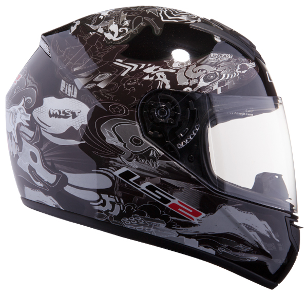 Casco integrale LS2 FF351 Comic Nero
